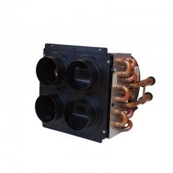 Топлообменник ARIZONA 4DS  с вентилатор, воден