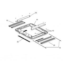 Рамка за прозорец за Midi-Hek, Style