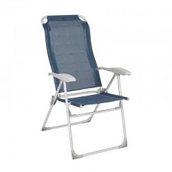 "Сгъваем стол ""Berger Comfort"", син"