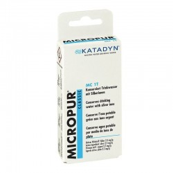 "Таблетки за пречистване на вода ""Micropur"", 1 опаковка за 100 литра"