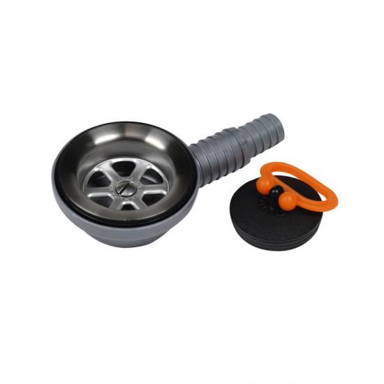 Комплект дренажен за мивки под ъгъл 90 градуса, 25-20 мм