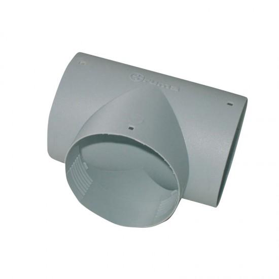 Елемент разклонителен TS-T, сив, 65 мм