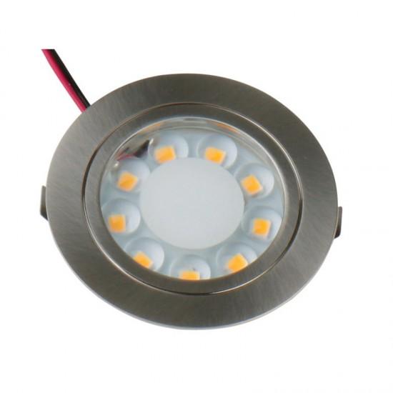 Крушка LED 12V 1,7W неръждаема стомана