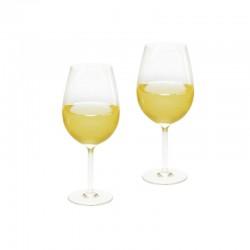 Комплект чаши за вино, поликарбонат, 2 х 360ml