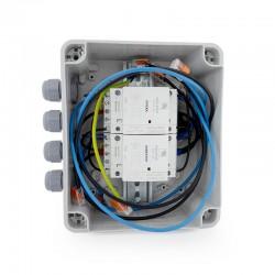 Табло за превключване на мрежово-инверторно напрежение с механична и електрическа блокировка