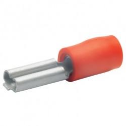 Авто - конектор женски 2,8x0,5 за 0,5 - 1,0 mm² - червен