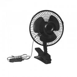 Вентилатор с 2 степени и допълнително закрепване, 12V
