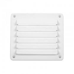 Решетка вентилационна, бяла, 142 x 127mm, ъглова