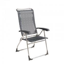 """Стол за къмпинг """"Aspen"""", сребрист"""