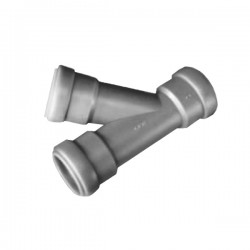 Y-елемент 45 ° за тръба 28 мм с уплътнение