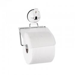 Поставка за тоалетна ролка с вакуум, бяла, до 3кг.