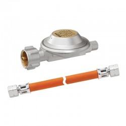 Система единична за бутилка, регулатор ниско налягане и газов маркуч, 50mb