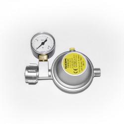 Газов регулатор 8 mm с манометър