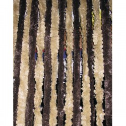 Ресни 56 x 185, кафяво / бежово