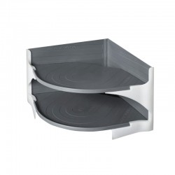 "Поставка за чинии ""Purvario"", 15x23,5x23,5cm"
