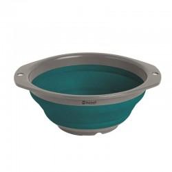 Купа сгъваема, силиконова, синя, Ø23,5cm